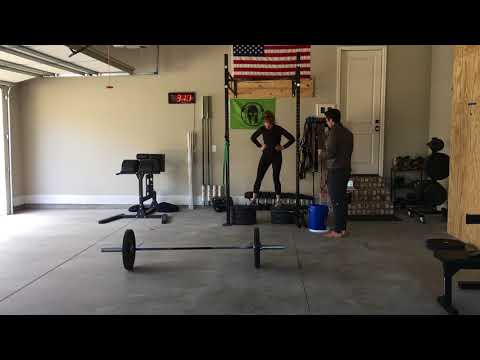 CrossFit Open 18.5  Emily Ting