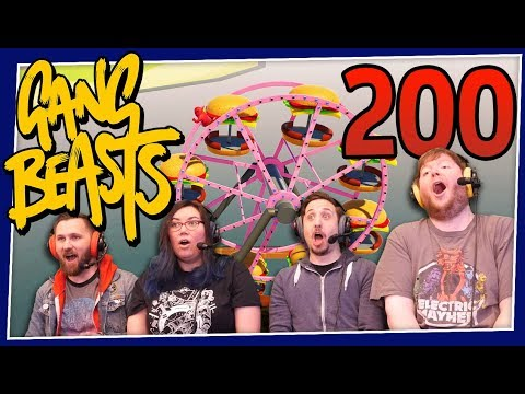 Gang Beasts - The 200th Episode