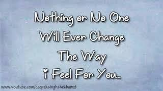 I will never leave u❤❤
