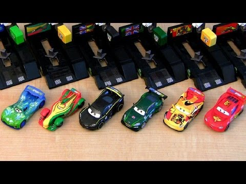 Cars 2 pit stop launcher miguel camino youtube - Coloriage cars 2 miguel camino ...