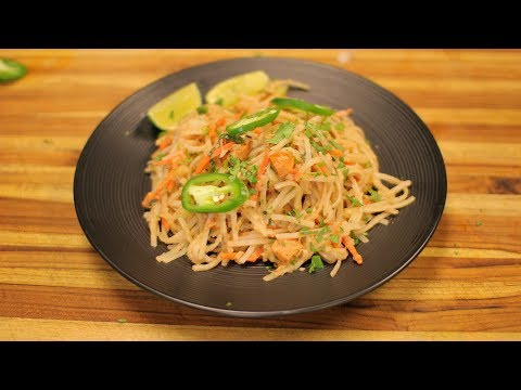 Thai Spicy Noodles – healthy recipe channel – thailand rice noodles – thai recipe  – non authentic
