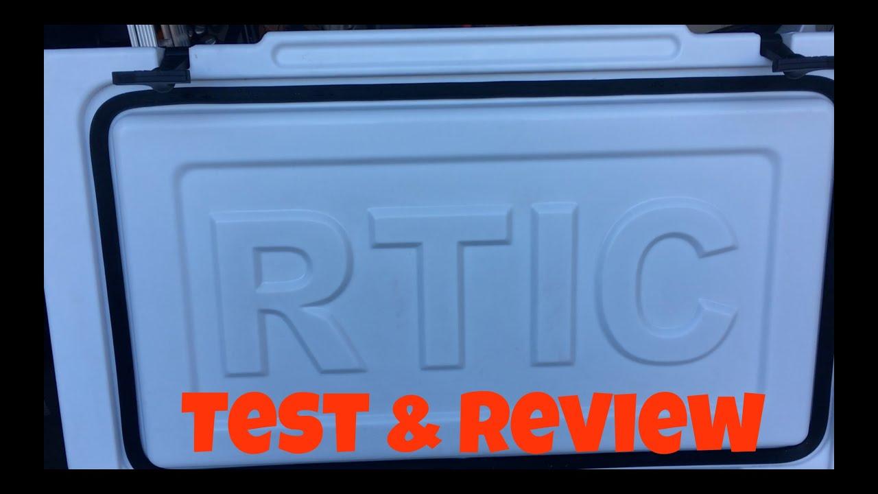 rtic 65 qt cooler test review youtube. Black Bedroom Furniture Sets. Home Design Ideas