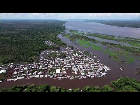 Brazil's Manaus flooded by rising Amazon rivers