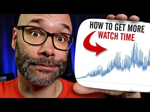 YouTube Watch Time (How to Increase it Fast)