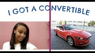 I GOT A CONVERTIBLE!!!!!! & WENT TO THE MUSEUM OF ICE CREAM!  | Nia Sioux