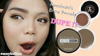 Download Maybelline Tattoo Brow Pomade Pot| First Impression Mp3 and Videos