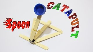 How To Make a Catapult Out Of Popsicle Sticks