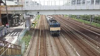 【廃車回送】EF64-1032+E217系Y-115編成+Y-125編成 @平沼橋