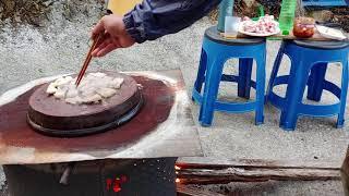 #항아리뚜껑에삼겹 굽기 .# 항아리 뚜껑 삼겹  지금까…