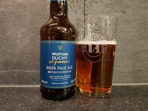 Waitrose Duchy Organic India Pale Ale British Sovereign | British Craft Beer Review