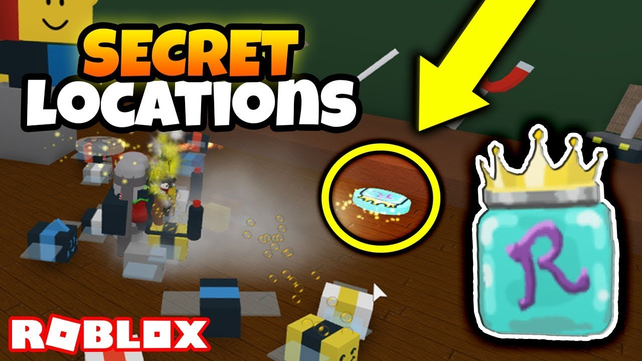 ALL *SECRET* ROYAL JELLY LOCATIONS! *I DESTROYED THE WHOLE ...