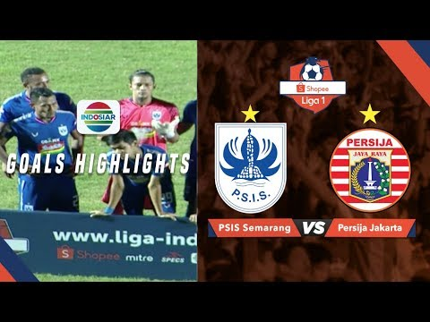 PSIS Semarang (2) Vs Persija Jakarta (1) - Goal Highlights | Shopee Liga 1