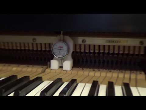 Regulate grand piano – 6 WNG Bedding Tool