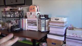 Decluttering 12 X 12 Paper Pads