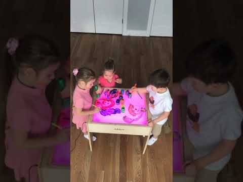 Art Light Activity Table 5-in-1. Art And Play. Create Your Own Play.