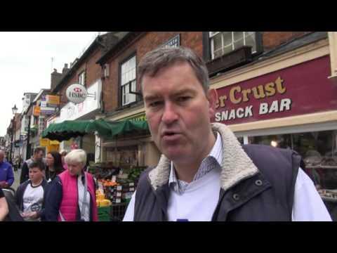 David Gauke visits Rickmansworth 21.05.16
