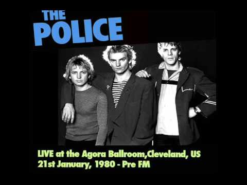 "The Police- Cleveland, OH 21-01-1980 ""Agrora Ballroom"" Full Audio Show"