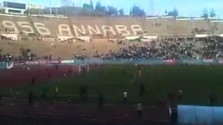 هدف إتحاد عنابة ضربة جزاء في الدقيقة 90 + 06 أمام أمل مروانة 08 01 2016