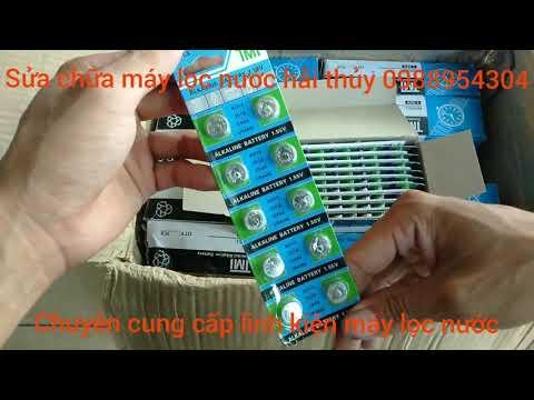 Xả Kho Pin Cúc Áo AG13 LR44 | Pin Mini Dùng Cho Đồng Hồ Máy Trợ Thính