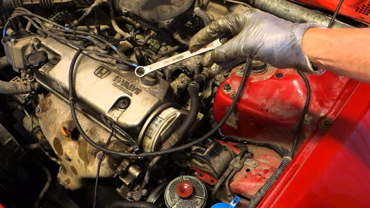 2000 honda civic engine diagram 1992 accord wiring how to replace water pump years 2002 youtube
