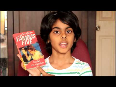 Book review Book summary - Famous Five - Five fall into Adventure