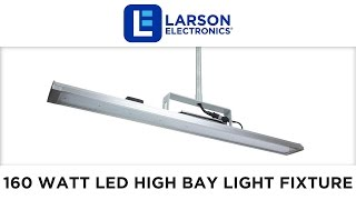 General Area Use High Bay 160 Watt LED Light Fixture - Low Profile - High Efficiency - Pendant Mount(, 2016-05-02T22:00:00.000Z)