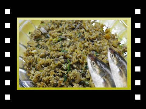 Meen Puuttu | Fish Puttu | Fish Scramble |  Nagarai Fish Puttu |kanakatha Puttu