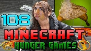 Minecraft: Hunger Games w/Mitch! Game 108 - Banana Explosions