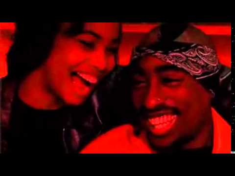 Aaliyah & Tupac laughing