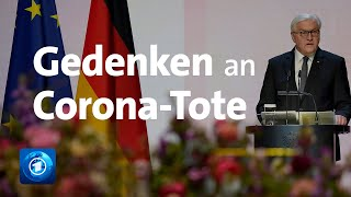 Gedenken an Corona-Tote - Steinmeier ruft zu Zusammenhalt auf