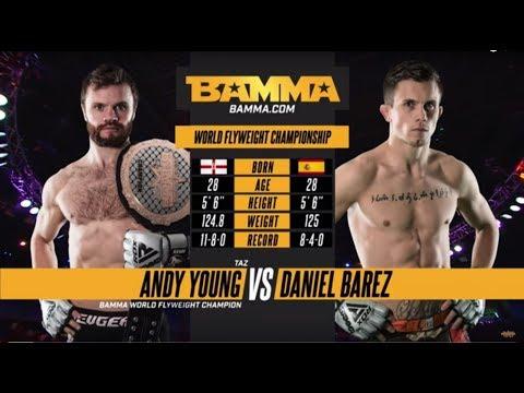 BAMMA 32: Andy Young vs Daniel Barez