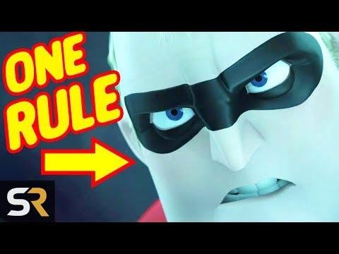 Pixar Reveals The Secret Rule The Incredibles Must Follow