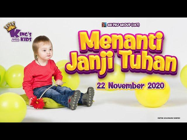 Ibadah Anak Special Needs (Online Service) - 22 November 2020