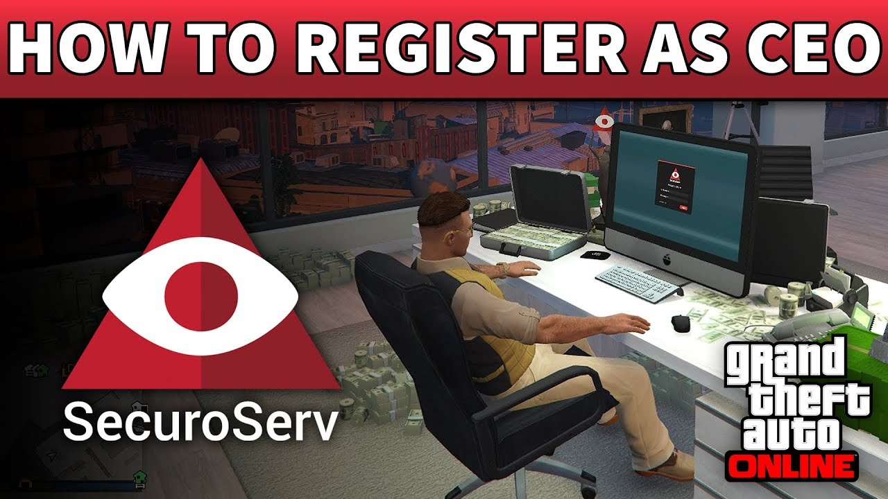 Gta 5 How To Register As A Ceo 100 Detailed Guide On