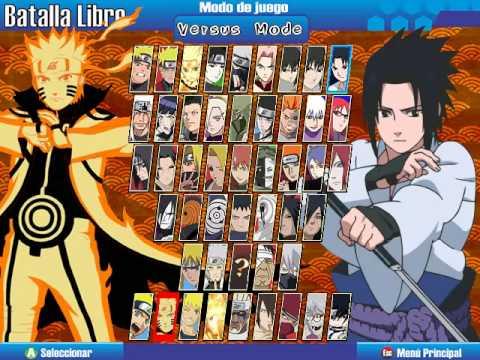 Naruto Shippuden Shinobi Rumble Generations Mugen Demostracion Laptop Mx Youtube