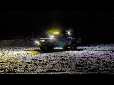 REVIEW OF BAJA DESIGNS AND RIGID LIGHTS + Walk-around Of My Lights + Vlog 2