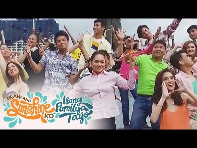 """ABS-CBN 2017 Summer Station ID """"Ikaw Ang Sunshine Ko, Isang Pamilya Tayo"""""""