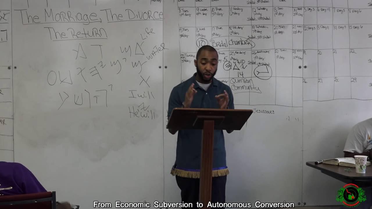 """""""From Economic Subversion to Autonomous Conversion"""" lecture by Divine Prospect"""