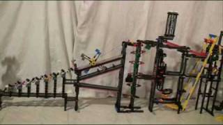 Lego Rube Goldberg Maschine
