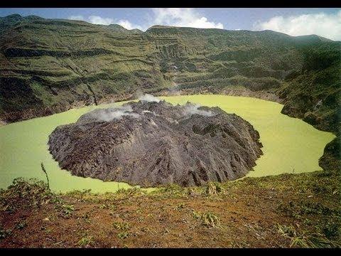 St. Vincent and the Grenadines, La Soufriere volcano eruptions.