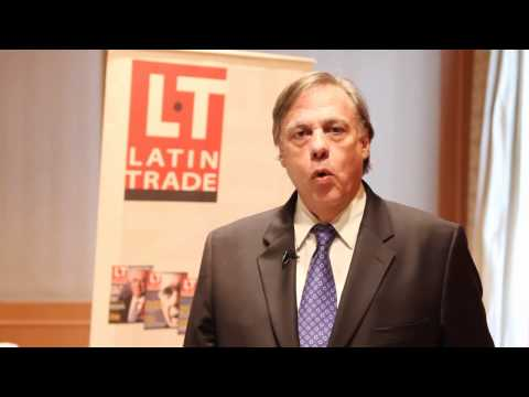 Ronald Pantin at Latin Trade Symposium