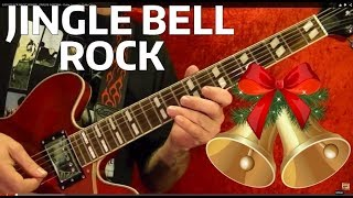 How to Play JINGLE BELL ROCK by BOBBY HELMS