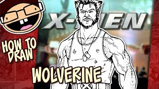 How to Draw WOLVERINE (X-MEN Movie Franchise) | Narrated Easy Step-by-Step Tutorial