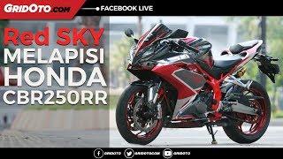 Modifikasi Honda CBR250RR Bertema Red SKY