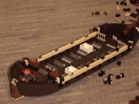 Building Lego Imperial Flagship 10210 Youtube
