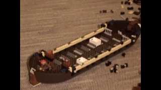 Building Lego Imperial Flagship 10210