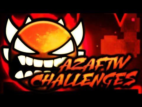ULTIMATE CHALLENGE BATTLE ~ Geometry Dash AzaFTW Challenges
