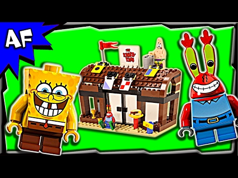 Lego SpongeBob KRUSTY KRAB Adventures 3833 Speed Build