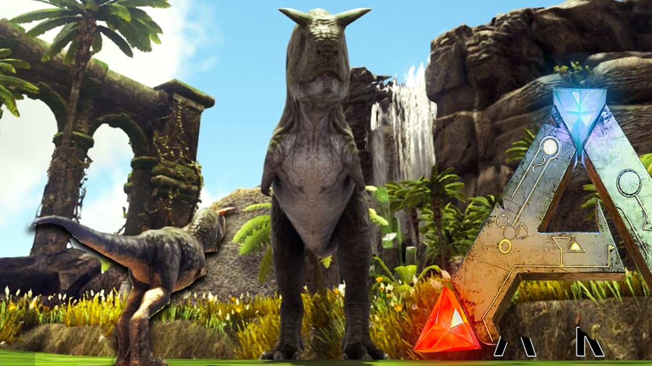 Ark Survival Evolved - PLAY AS CARNO, BREEDING ON INSANE NEW MAP (Ark  Gameplay) by everynightxRIOT