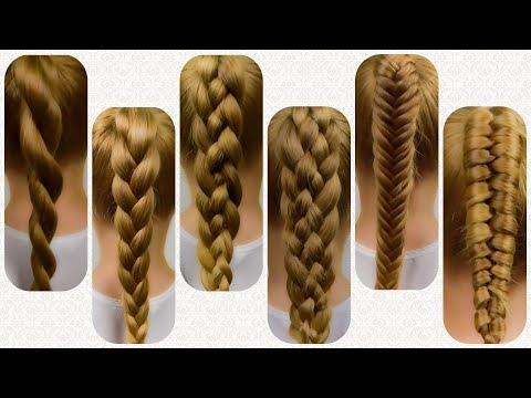 6  BASIC BRAIDS | HOW TO BRAID FOR BEGINNERS!  Braid Tutorial on Natural hair #1